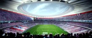 Nuevo Estadio Atletico Madrid. Foto: www.clubatleticodemadrid.com